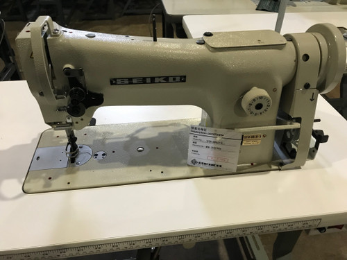 Seiko STH-8BLD-3,  Single Needle Walking Foot (Setup with Table, Motor & Stand)