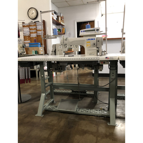 Juki DDL-8700-7 (with Upgraded Panel CP-180) Single Needle drop feed (Setup with table, motor & stand)