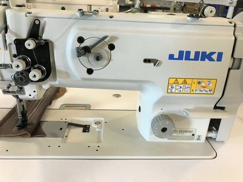Juki LU-1508NH Single Needle (Heavy Duty) Unison Feed, Walking foot (Setup with table, motor & stand)