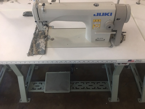 Juki DDL-8700H Single Needle, drop feed (Setup with table, motor & stand)