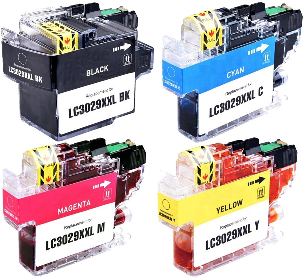 Brother Lc3029xxl Compatible Ink Cartridge Extra High Yield 1 Set Ricoh Color Copier Aficio Mp C2800 C3300 Service Manual Of 4