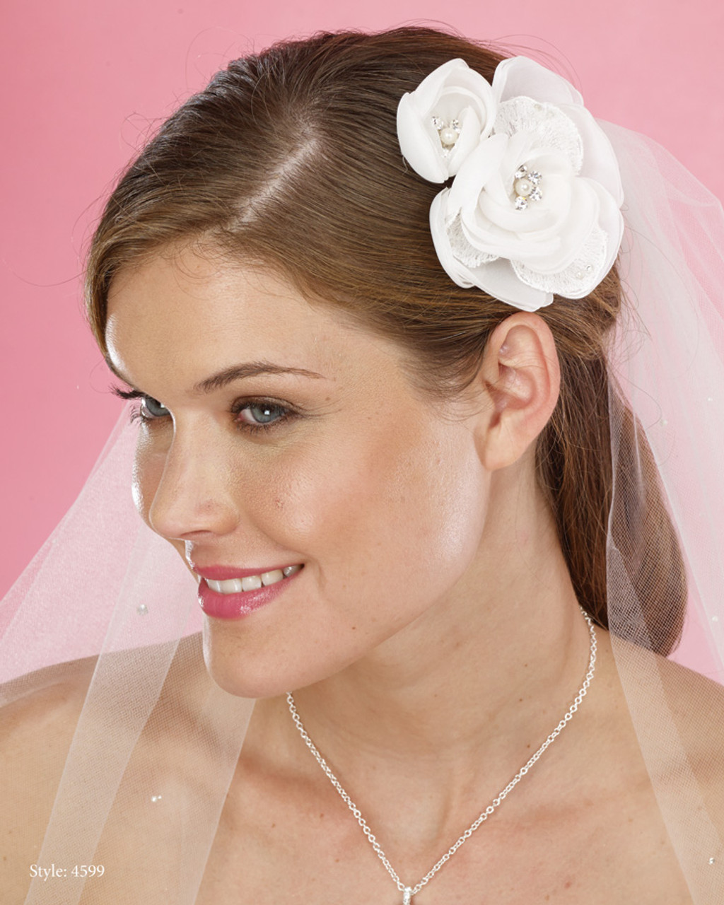 Le Crystal Collection - Marionat Bridal Headpieces 4599 - Quick Ship
