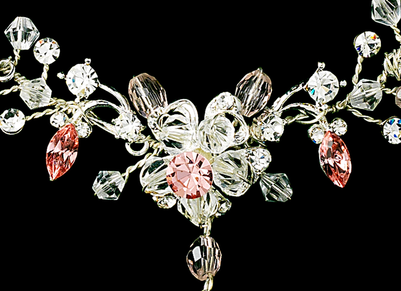 Couture Crystal Matching Jewelry & Tiara Set NE 8003 & HP 8003