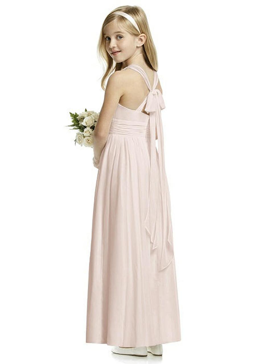 Dessy Flower Girl Style FL4054 - Lux Chiffon
