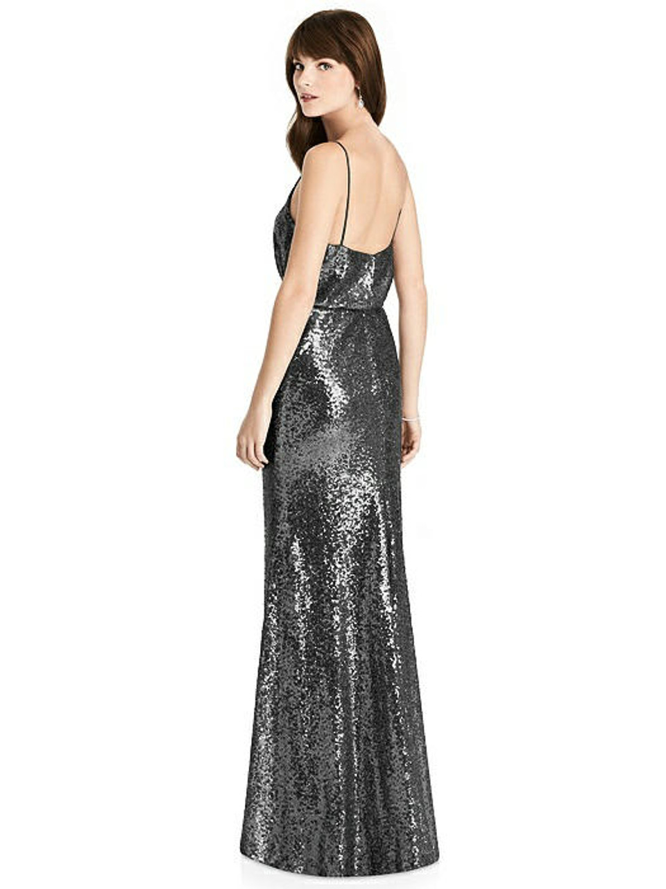After Six Bridesmaids Style 6784 - Stardust - Elle Sequin