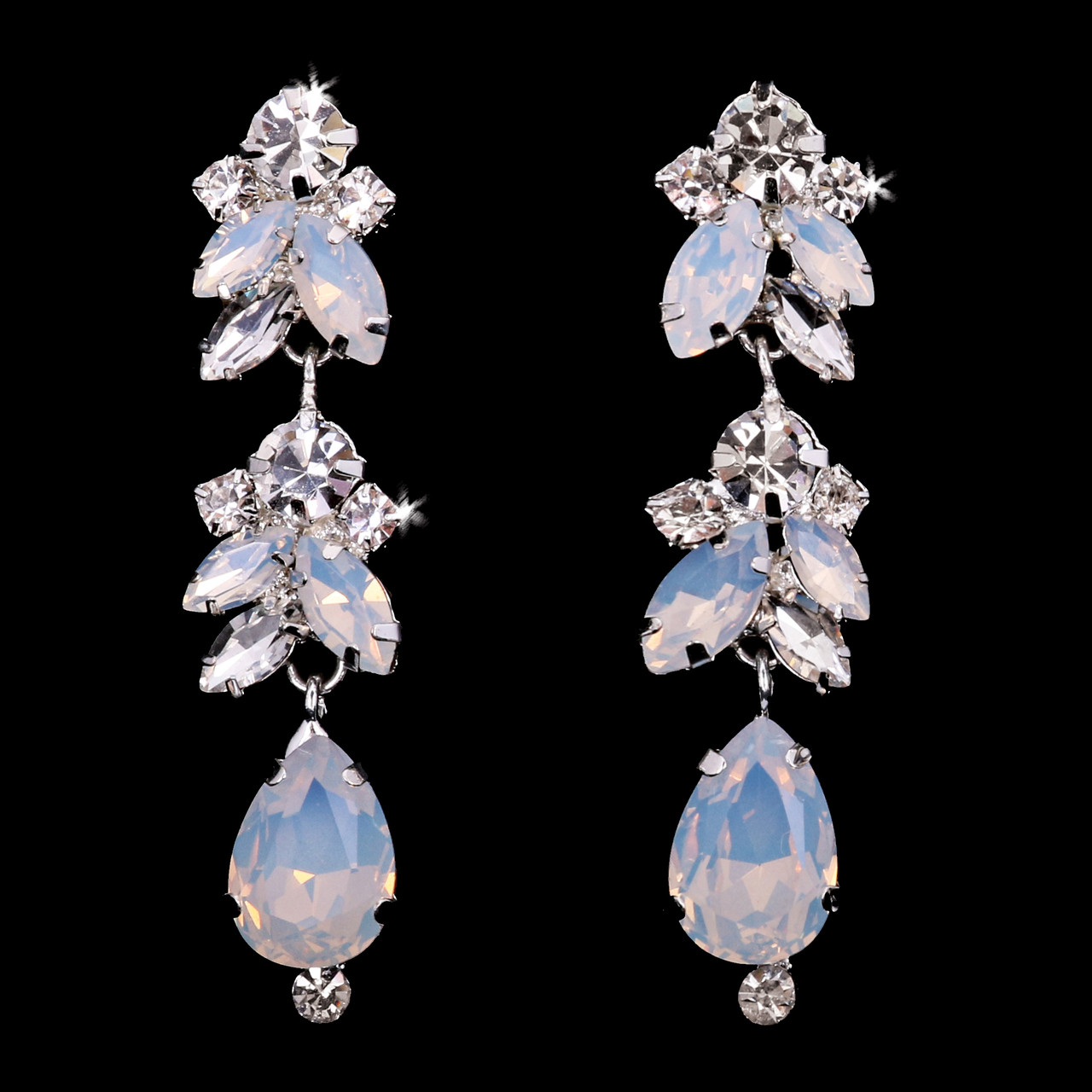 En Vogue Bridal Style E1960 - Rhinestone Earrings