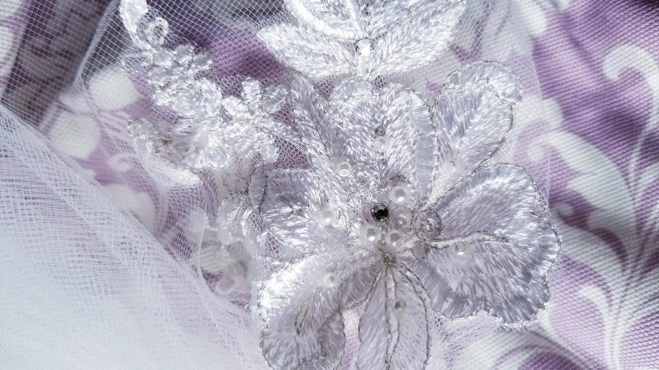 En Vogue Bridal Style V1996C - English tulle veil - Cathedral