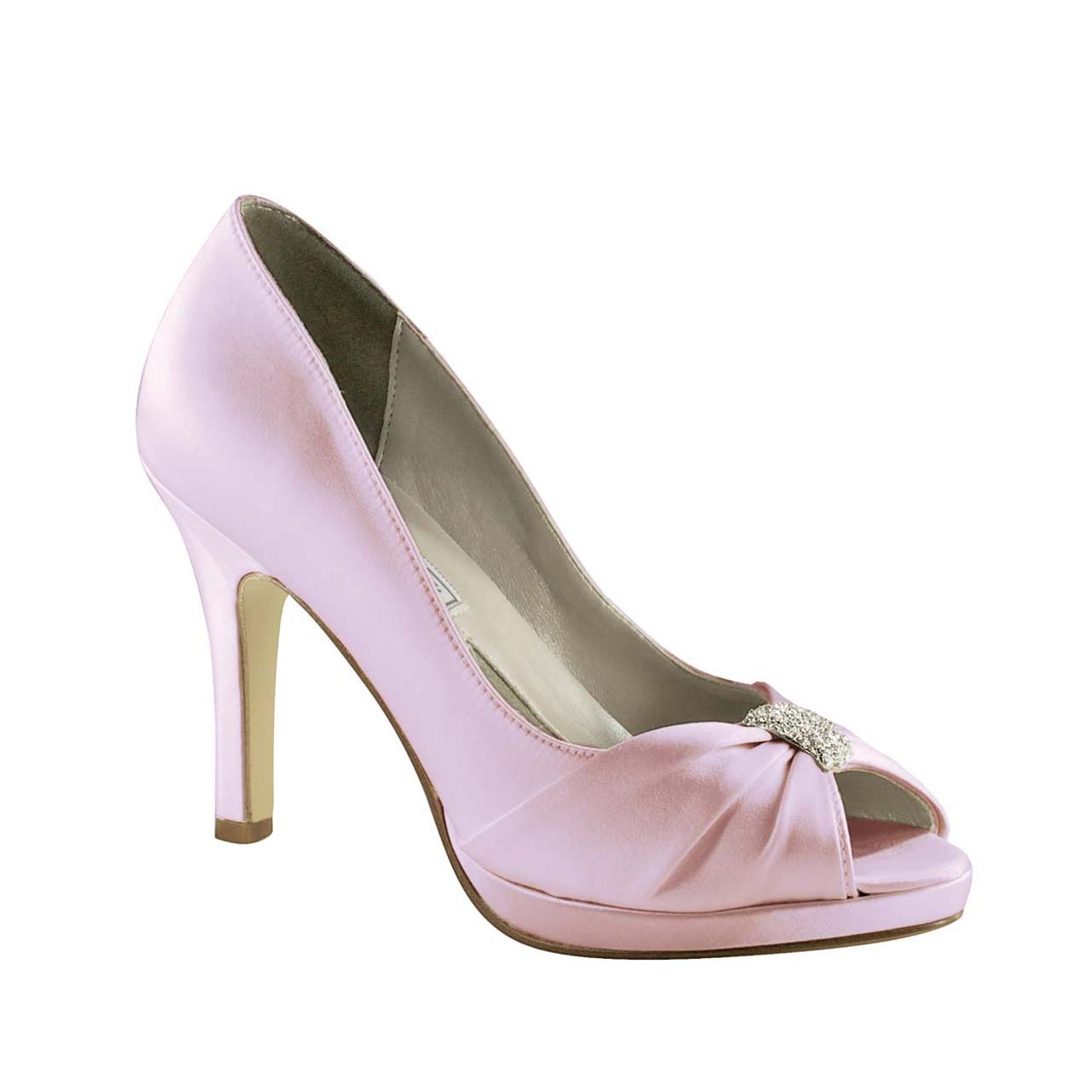 (Dyed Shoe)  Liz Renes Jacqueline Silk Satin - 775