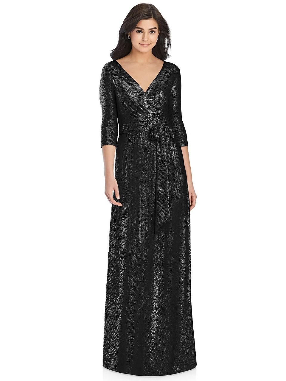 Dessy Collection Bridesmaid Dress 3028 - Soho Metallic