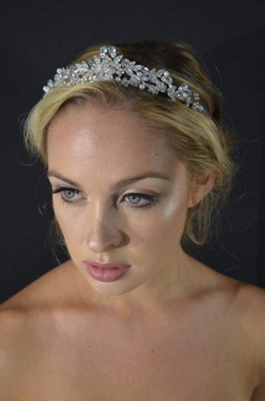 Ansonia Bridal Tiara Style 8795 - Crystal Tiara
