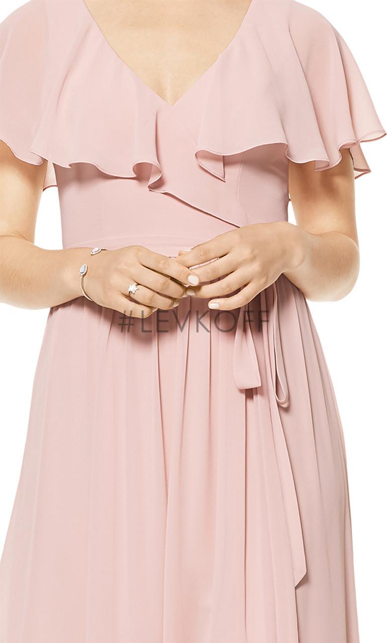 #LEVKOFF Bridesmaid Dress Style 7106 - Chiffon