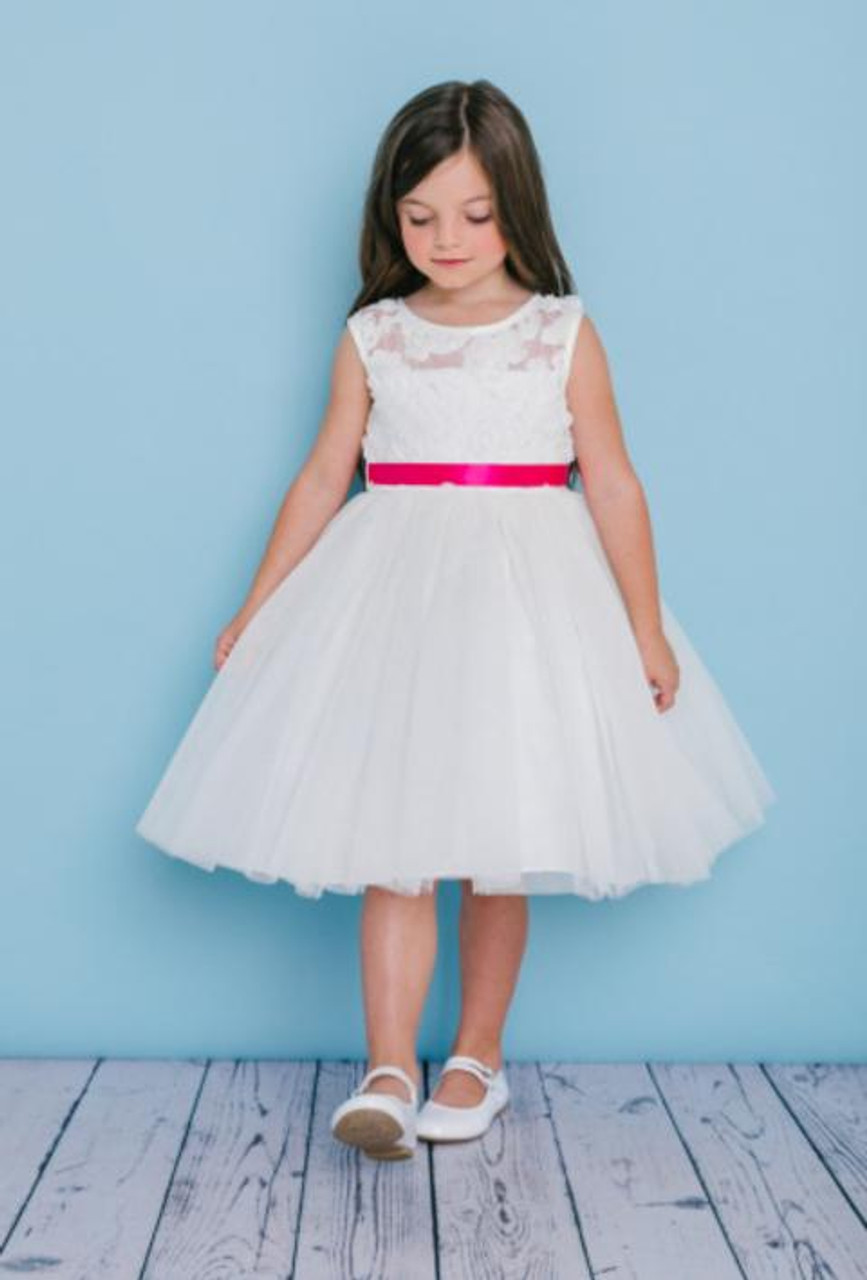 Rosebud Fashions Flower Girl Dresses 5136 - Tulle Skirt