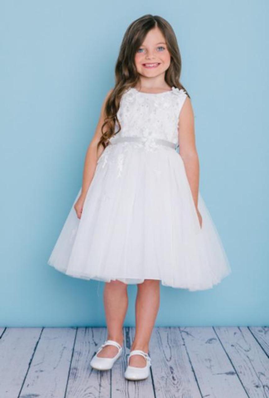 Rosebud Fashions Flower Girl Dresses Style 5135  -  Satin and Tulle