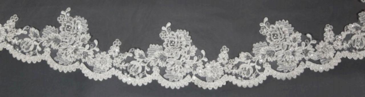 "Giselle Bridal Veil Style SP365 - 108""L"