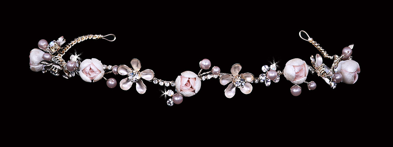En Vogue Bridal Headband HB2012 - Rhinestone Headband