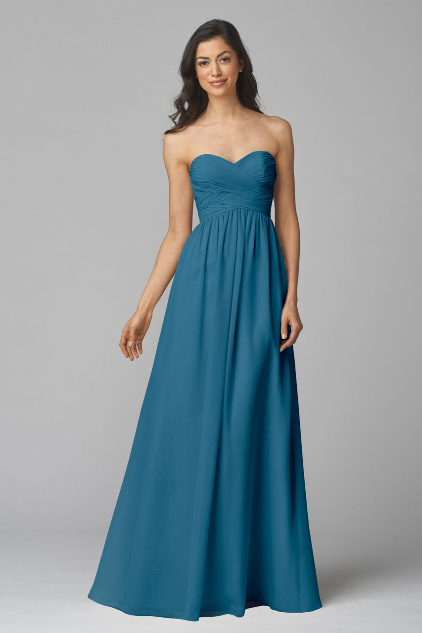 Wtoo Style 904 by Watters Bridesmaid Dress - Inna Chiffon