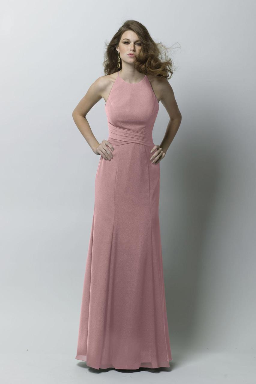 Wtoo Style Hadley 283 by Watters Bridesmaid Dress - Crinkle Chiffon