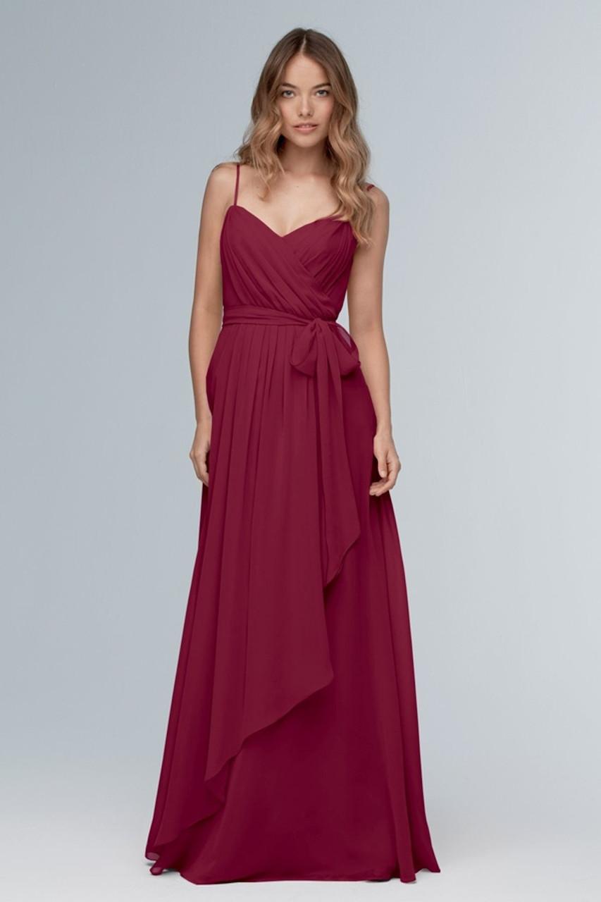 Wtoo Style 102 by Watters Bridesmaid Dress - Inna Chiffon