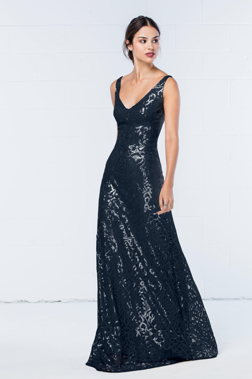 Wtoo Style 350 by Watters Bridesmaid Dress - Talisa Sequin