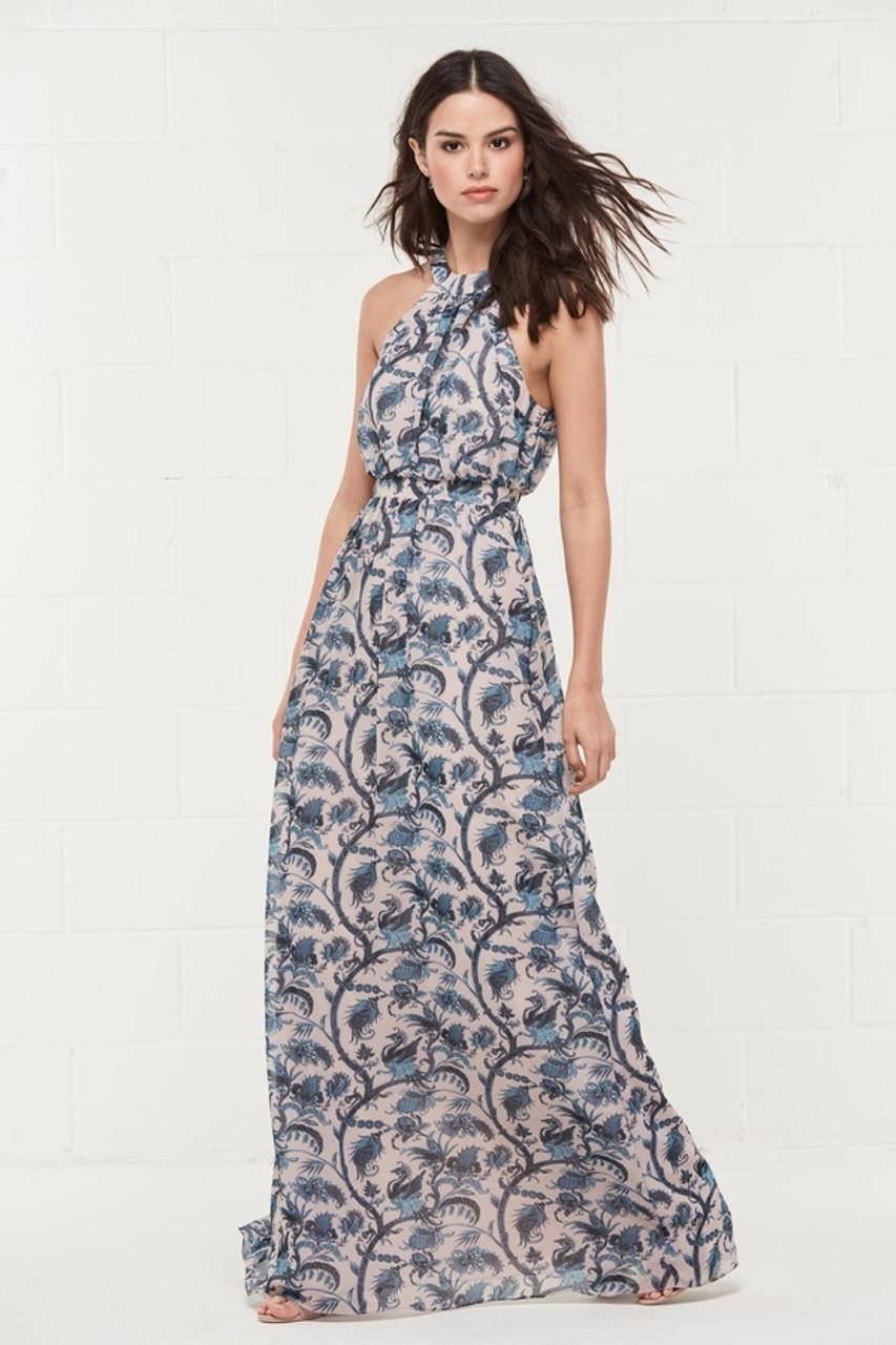 Wtoo Style 403P by Watters Bridesmaid Dress - Print Inna Chiffon
