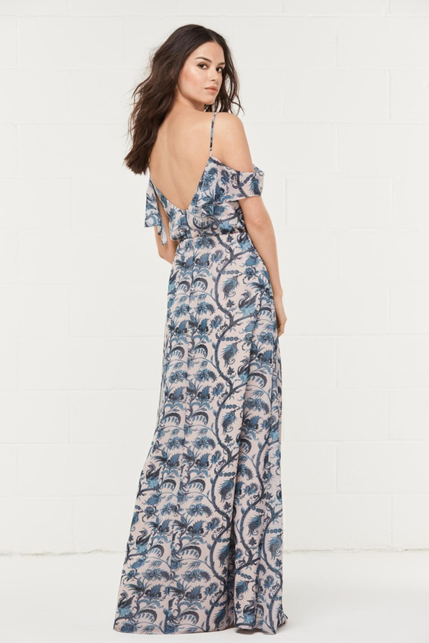 Wtoo Style 402P by Watters Bridesmaid Dress - Print Inna Chiffon