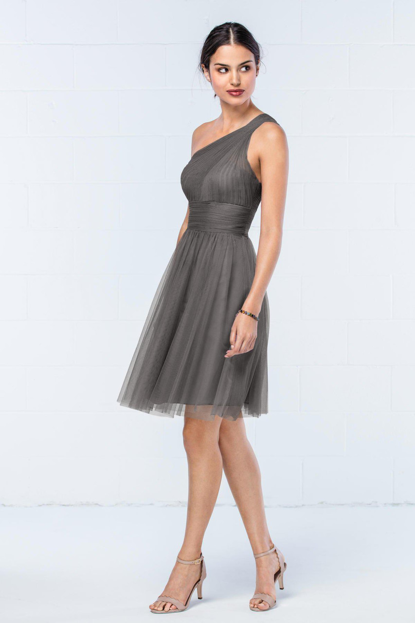 Wtoo Style 858K by Watters Bridesmaid Dress - Bobbinet Tulle