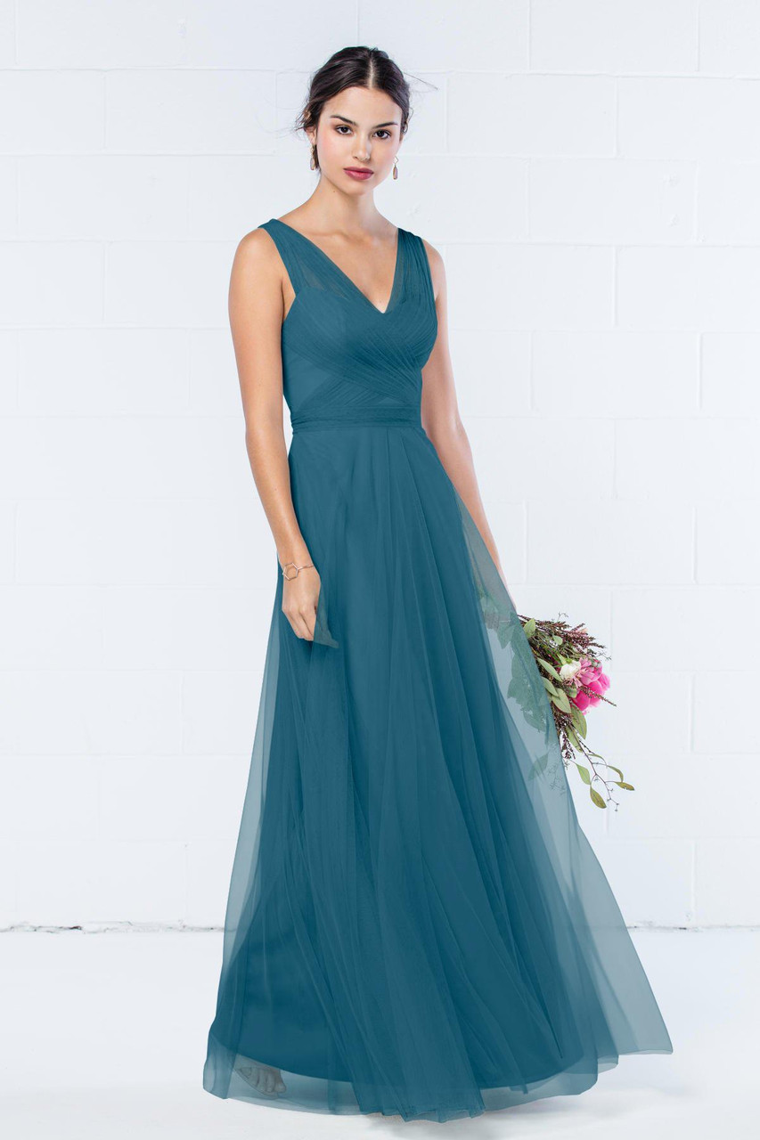 Wtoo Style 343 by Watters Bridesmaid Dress - Bobbinet Tulle