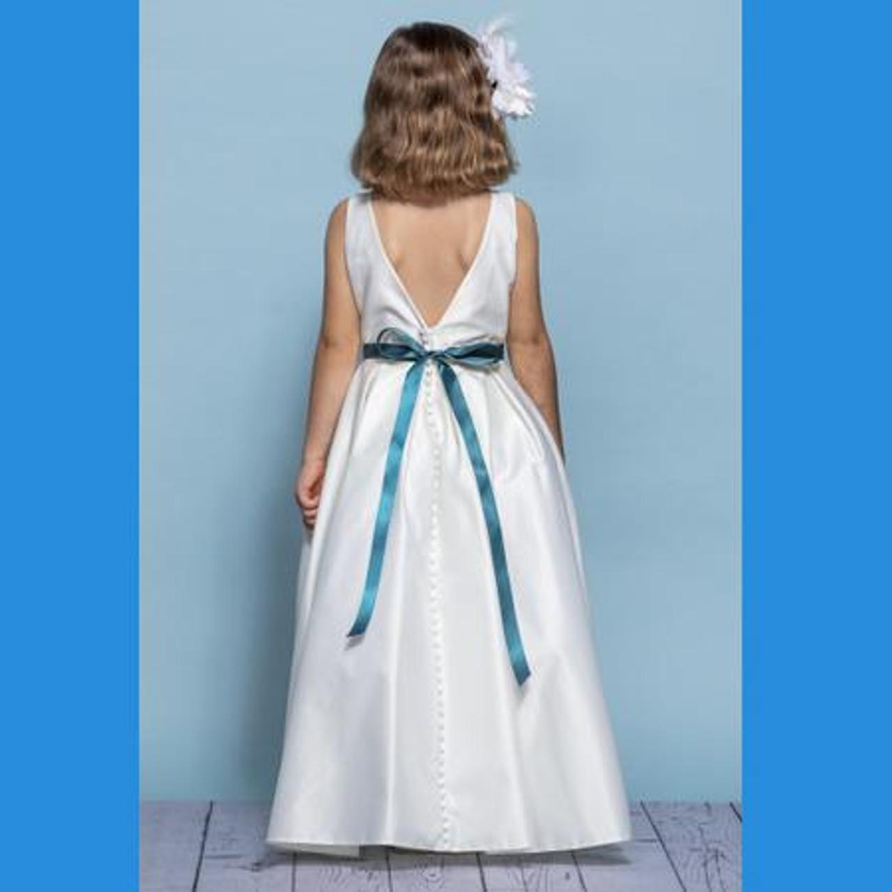 Rosebud Fashions Flower Girl Dresses Style 5139- Satin