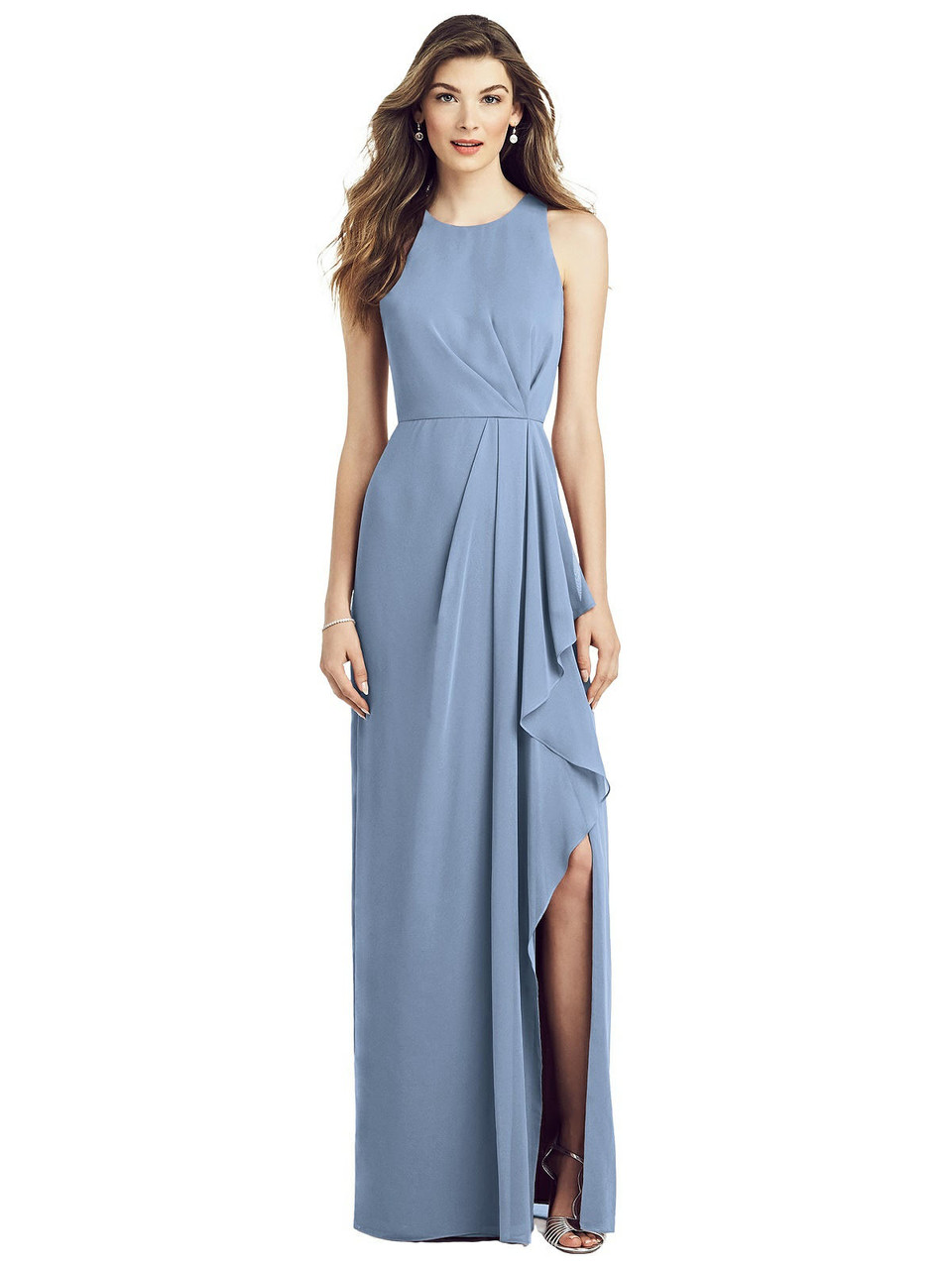 After Six Bridesmaid Dress 6818 - Cloudy - In Stock Dress