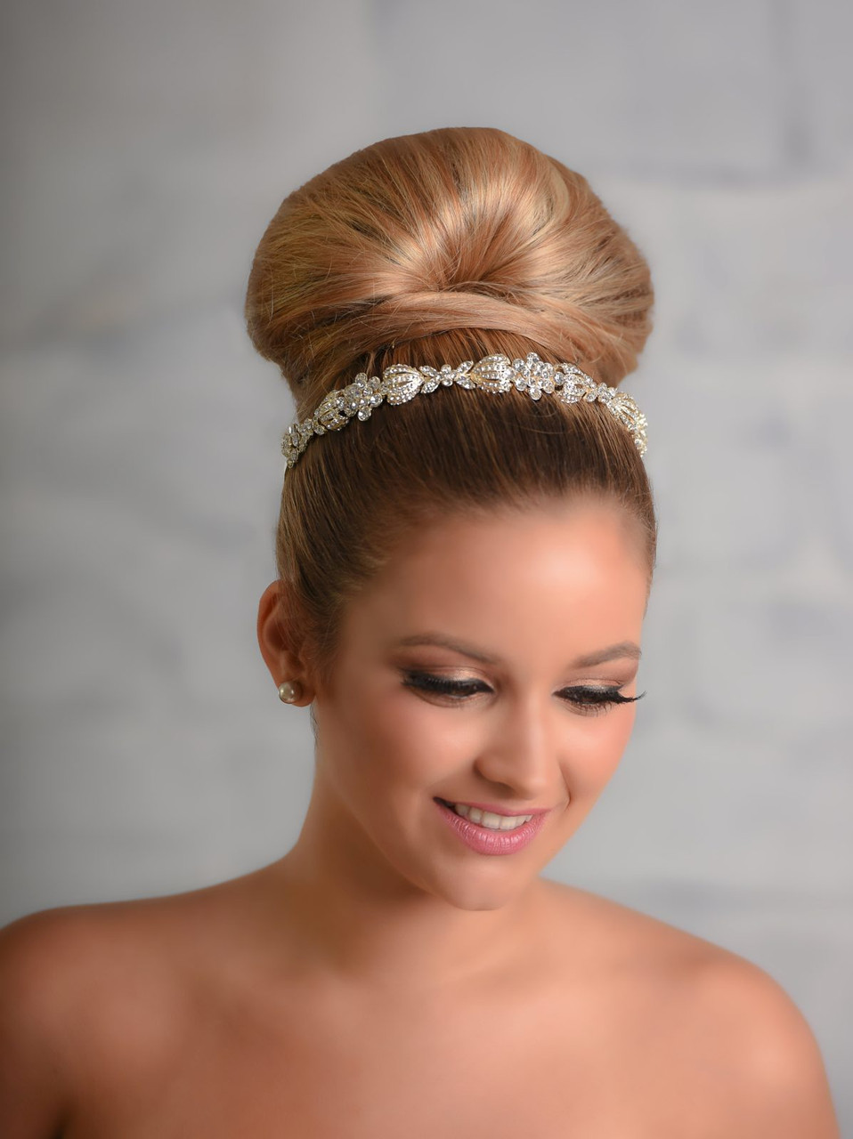 Maritza Bridal Headpiece 1035 - Rhinestone Headband