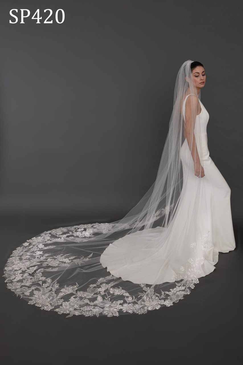 Giselle Bridal Veil Style SP420 - Cathedral Veil
