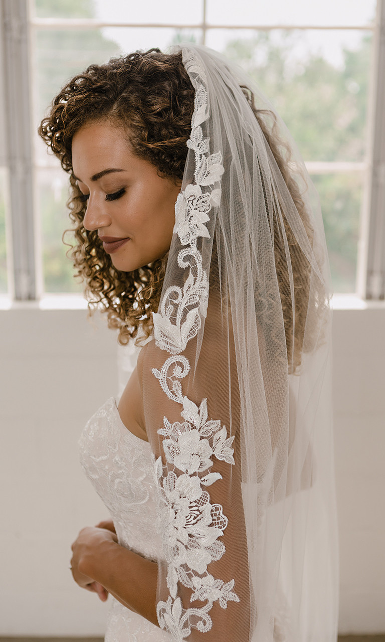 En Vogue Bridal Style V2194C - Cathedral Cut - 108 Inches
