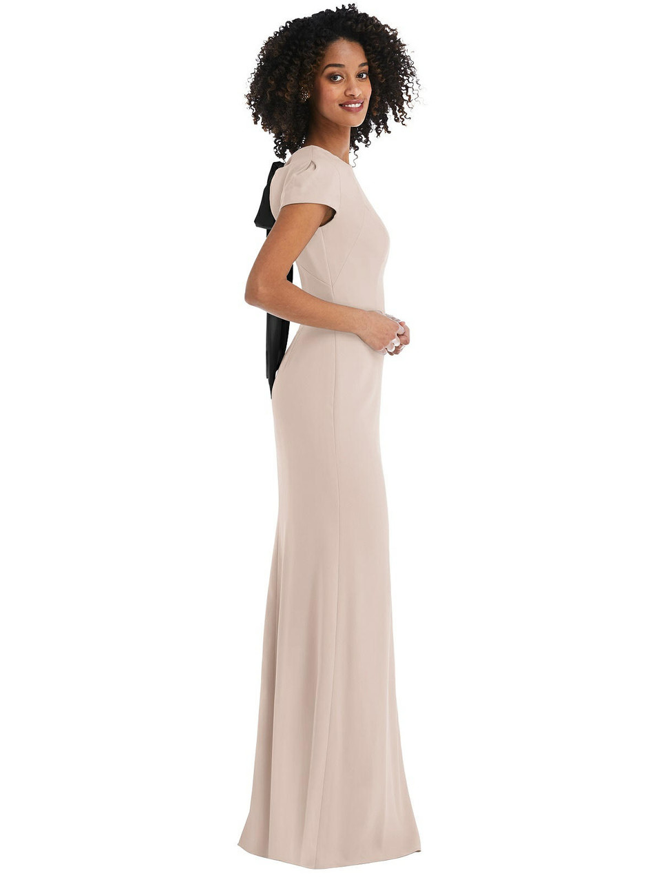 After Six Bridesmaid Dress Style 6837 - Crepe
