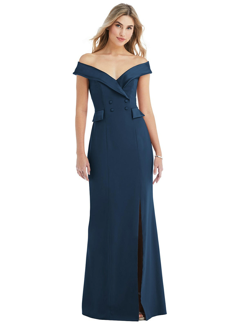 After Six Bridesmaid Dress Style 6843 - Crepe