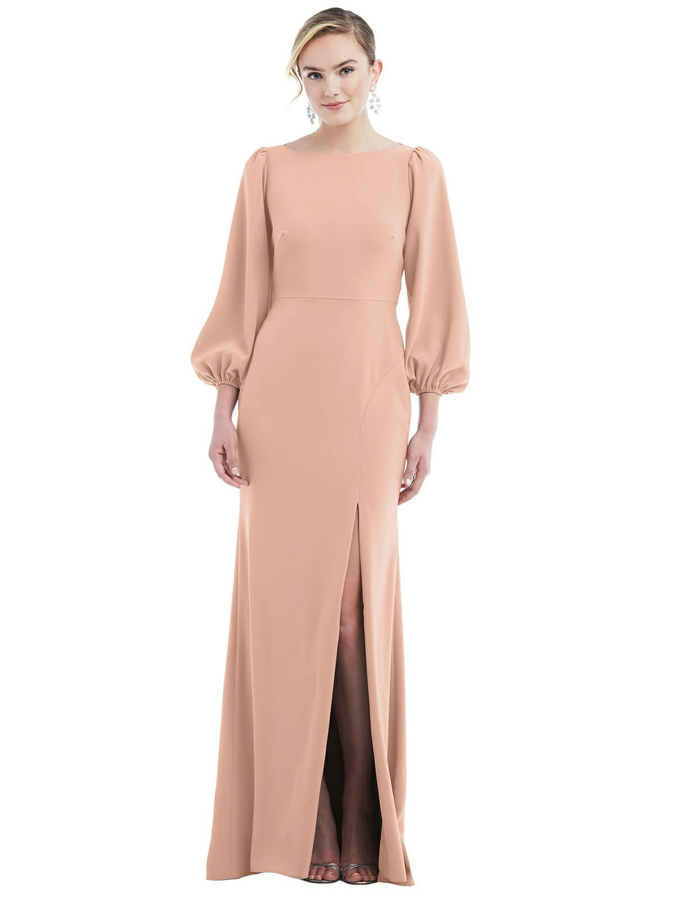 Dessy Bridesmaid Dress 3086 - Crepe