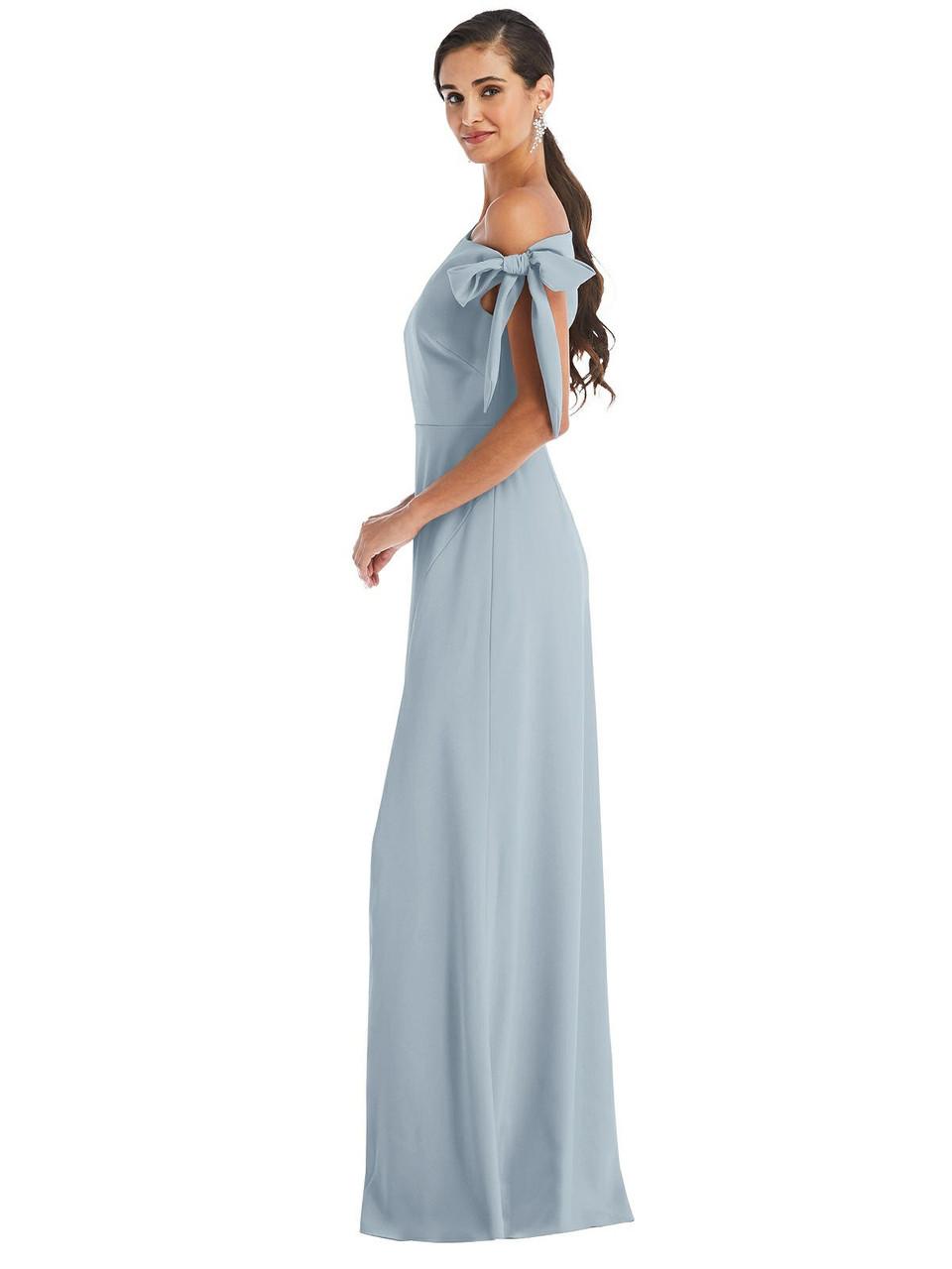 Dessy Bridesmaid Dress 3074 - Crepe