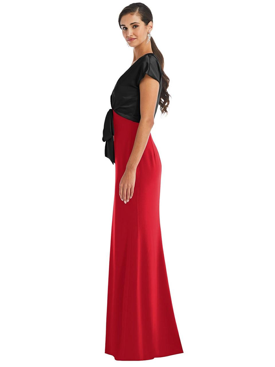 Dessy Bridesmaid Dress 3075 - Crepe