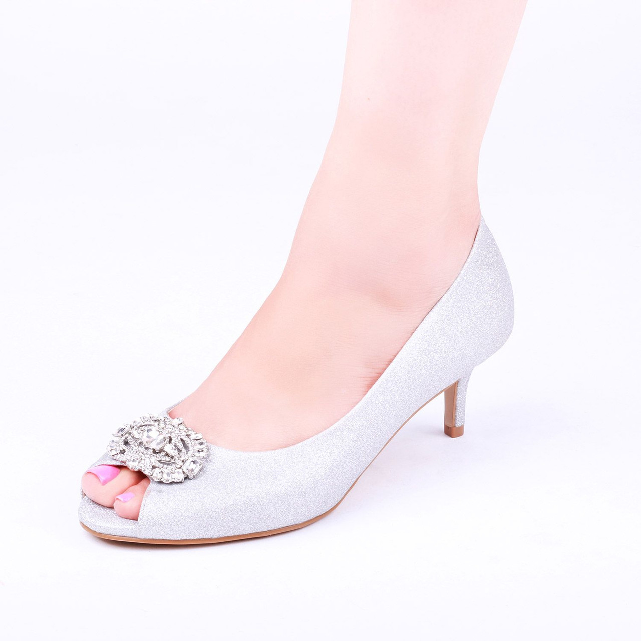 Paradox London Prunella Silver - Pink Collection - Wide Size