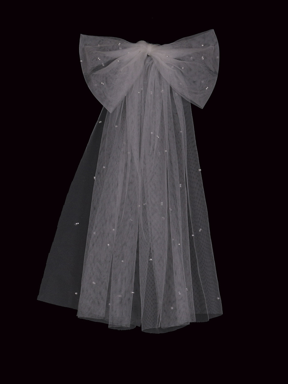 En Vogue Bridal Style V2297SF - English Luxe Tulle Single Tier Veil - 41 Inches