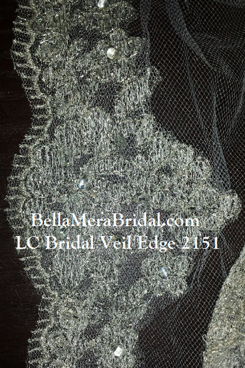 LC Bridal Style V2151-1650-Cathedral Bugle and Seed Bead