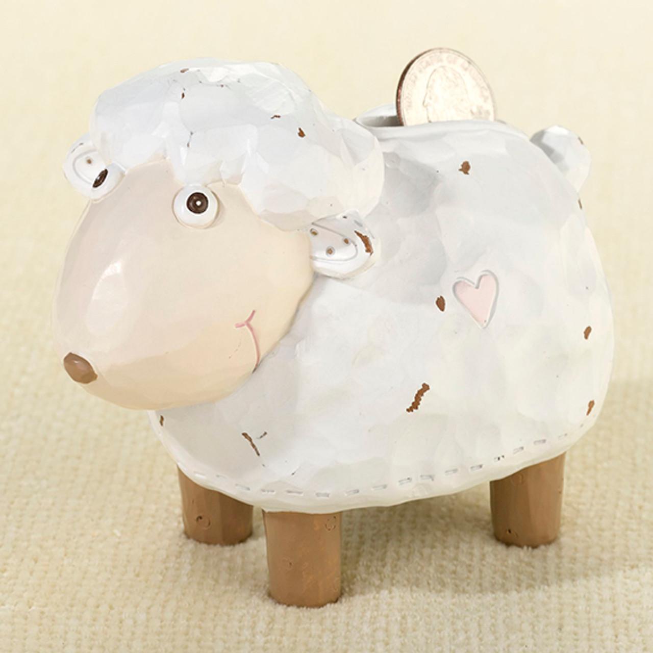 Little Lamb Coin Bank - Lillian Rose