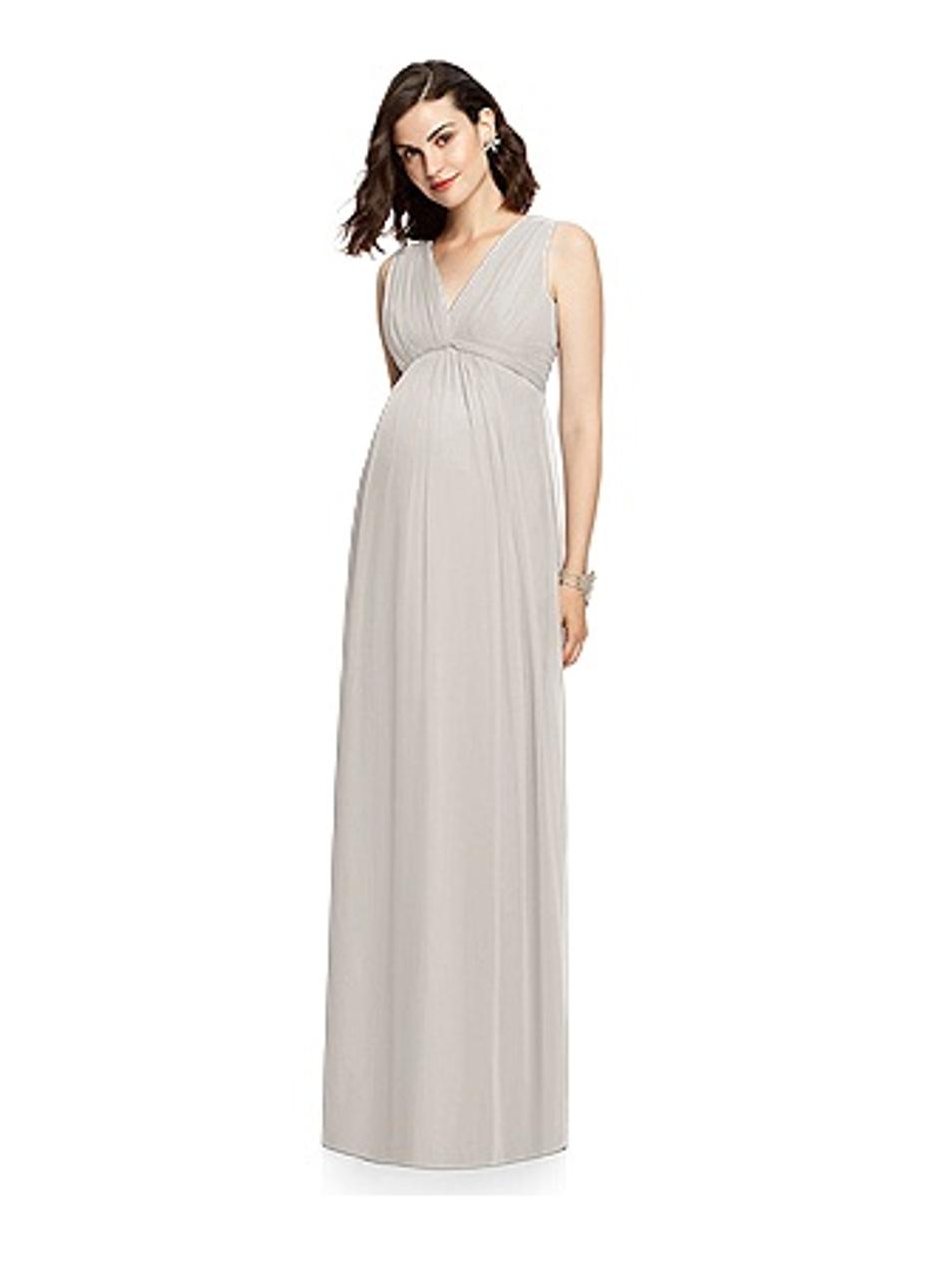 Dessy Maternity Bridesmaids Style M429 by - Chiffon Knit