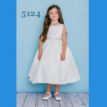 7a89f8d8c4 Rosebud Fashions Flower Girl Dresses - Style 5124 - Satin and Lace