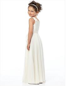 160bbdf506e Dessy Flower Girl Dress FL4033-Lux chiffon dress