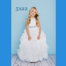 5616a886d4 Rosebud Fashions Flower Girl Dresses Style 5122 - Organza ruffled skirt
