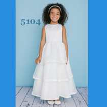 5f068b4ca3 Rosebud Fashions Flower Girl Dresses Style 5104 - Satin and Organza