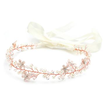 Bridal Ribbon Headbands And Soft Bridal Headbands