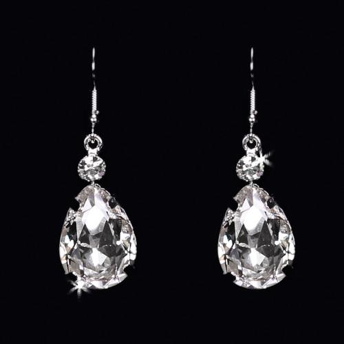 En Vogue Bridal Style E1572 - Rhinestone Earrings