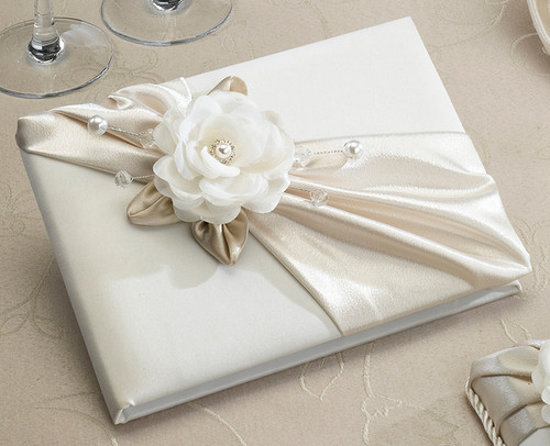 Guest Book by Lillian Rose - Taupe or White