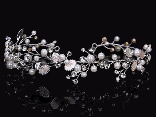 En Vogue Bridal Hair Jewelry HJ1643 - Rhodium plated